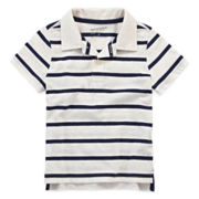 Arizona Striped Jersey Polo - Toddler Boys 2t-5t