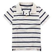 Arizona Striped Jersey Polo - Toddler Boys 2t-5t