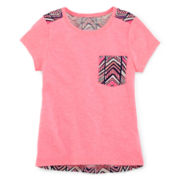 Arizona Pleated-Back Raglan Tunic - Toddler Girls 2t-5t