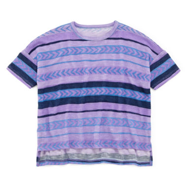 jcpenney.com | Arizona Striped Knit Tee - Preschool Girls 4-6x
