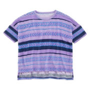 Arizona Striped Knit Tee - Preschool Girls 4-6x