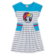 My Little Pony Sequin Skater Dress - Preschool Girls 4-6x