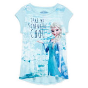 Disney Frozen High-Low Tee - Girls 7-16