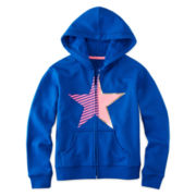 Xersion™ Fleece Full-Zip Hoodie - Girls 7-16 and Plus