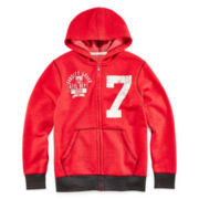 Arizona Full-Zip Fleece Hoodie - Boys 8-20