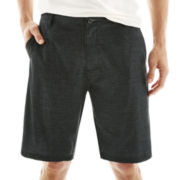 Burnside® Print Hybrid Stretch Shorts