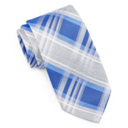 JF J. Ferrar® Heathered Plaid Tie - Slim