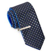 JF J. Ferrar® Neat Solid Reversible Tie