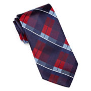 Stafford® Harmony Block Check Silk Tie