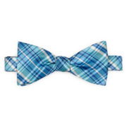Stafford® David Plaid Pre-Tied Bow Tie