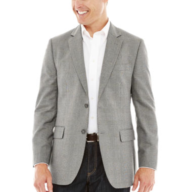 jcpenney.com | Stafford® Travel Year-Round Gray Prince of Wales Sport Coat