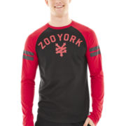 Zoo York® Cracker Long-Sleeve Raglan Tee