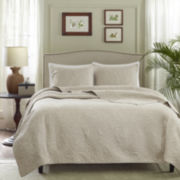 Madison Park Langley 3-pc. Quilted Coverlet Set