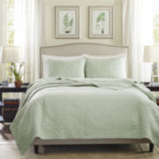 Madison Park Brosnan 3-pc. Quilted Coverlet Set