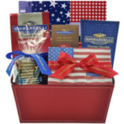 Ghirardelli® Chocolate Patriotic Gift Basket