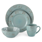 Thomson Pottery® Cape Cod 16-pc. Dinnerware Set
