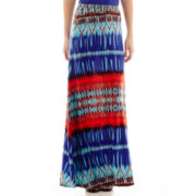 Bisou Bisou® Printed Maxi Skirt