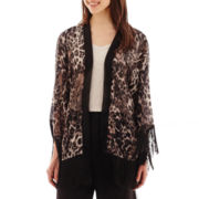 i jeans by Buffalo 3/4-Sleeve Print Kimono Blouse