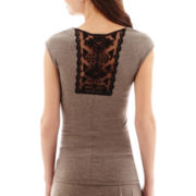 Alyx® Sleeveless Crochet-Back Malone Top
