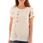 Stylus™ Short-Sleeve Sequin T-Shirt