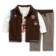 Disney Baby Collection Mickey Mouse 3-pc. set - Baby Boys newborn-24m