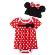 Disney Baby Collection Minnie Mouse Bodysuit Costume Set - Baby Girls newborn-24m