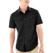 Ecko Unltd.® Short-Sleeve Solid Woven Shirt
