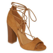 Bamboo Embark-40M Lace-Up Dress Sandals