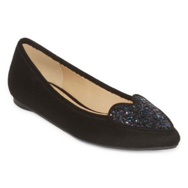 jcpenney.com | First Love Pointed-Toe Slip On Flats