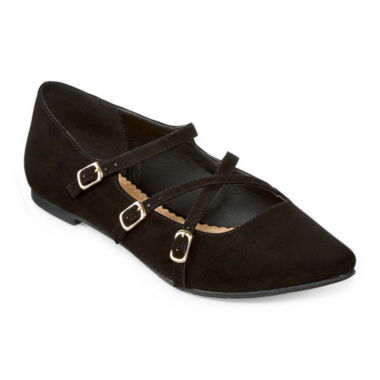 jcpenney.com | Restricted Allison Pointed-Toe Ballet Flats
