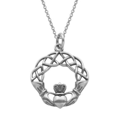 jcpenney.com | Sterling Silver Claddagh Pendant Necklace