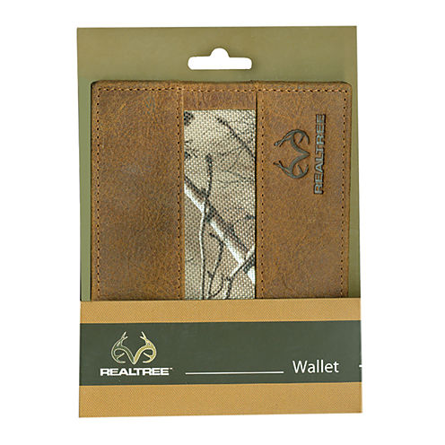 Realtree® Camouflage Passcase Wallet