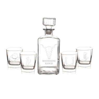jcpenney.com | Cathy's Concepts Western 5-pc. Decanter Set