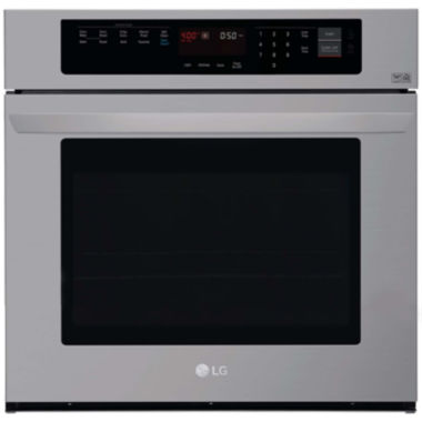 "jcpenney.com | LG 4.7 cu. ft. 30"" Built-in Single Wall Electric Oven with Convection"