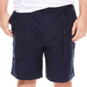 IZOD® Flat-Front Shorts - Big & Tall