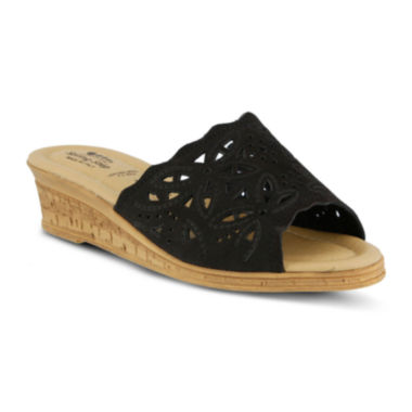 jcpenney.com | Spring Step Estella Slide Wedge Sandals
