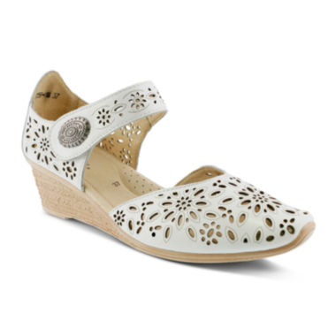 jcpenney.com | Spring Step Nougat Wedge Sandals