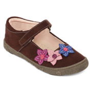 Okie Dokie® Brooke Girls Bump Toe Mary Janes - Toddler