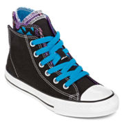 Converse Chuck Taylor All Star Girls Zip-Back Sneakers  - Little Kids
