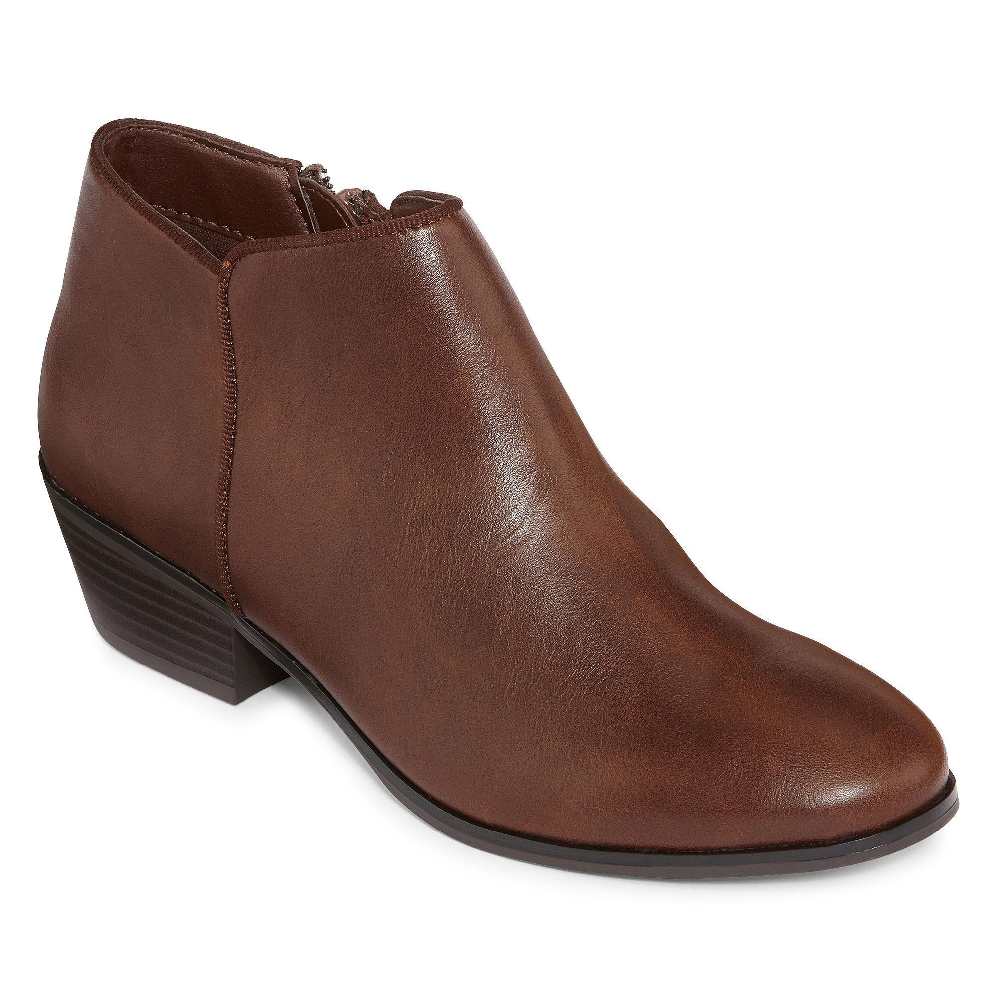 St. Johns Bay Lennon Womens Ankle Boots plus size,  plus size fashion plus size appare