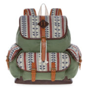 SM New York Tribal Print Cargo Backpack