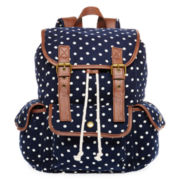 SM New York Dot Print Cargo Backpack