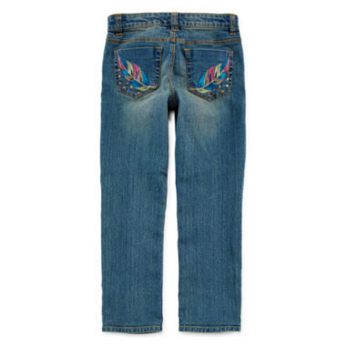 jcpenney.com | Arizona Embroidered Skinny Jeans - Preschool Girls 4-6x