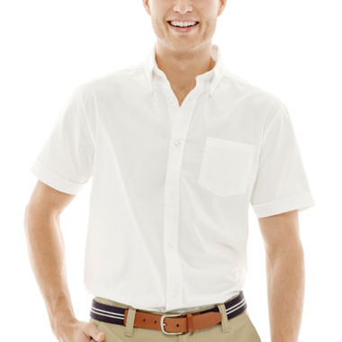 jcpenney.com | Lee® Short-Sleeve Oxford Shirt