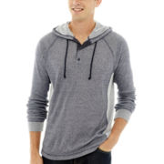 Levi's® Arias Long-Sleeve Hooded Knit Pullover