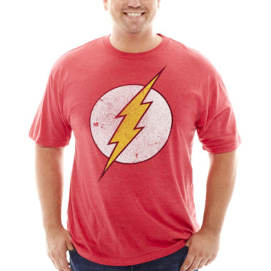 jcpenney.com | DC Comics® Flash™ Graphic Tee - Big & Tall