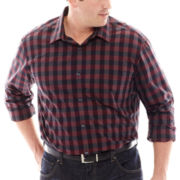 Claiborne® Long-Sleeve Woven Shirt - Big & Tall