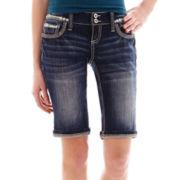 Ariya™ Curvy Denim Bermuda Shorts