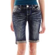 Ariya™ Curvy Bermuda Denim Shorts