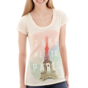 Short-Sleeve Paris Graphic T-Shirt